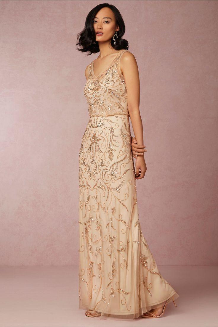 2e4de893694 20 Fabulous Art Deco Bridesmaid Dresses   Chic Vintage Brides