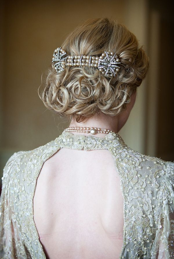 20 elegant art deco bridal hair amp makeup ideas chic
