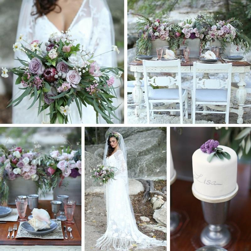 Romantic Wedding Inspiration With Vintage Boho Elegance Chic
