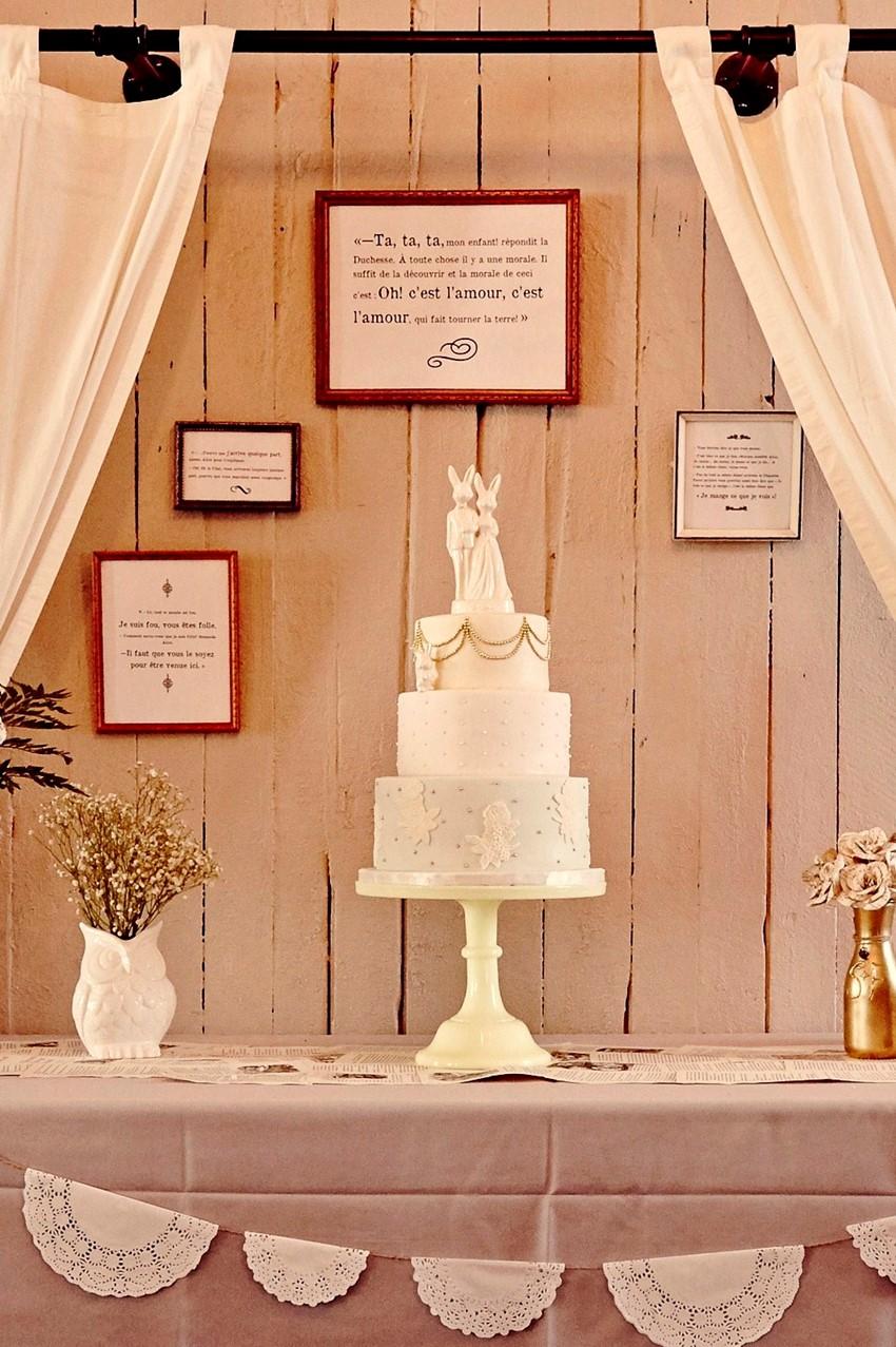 A Whimsical Alice In Wonderland Themed Diy Wedding