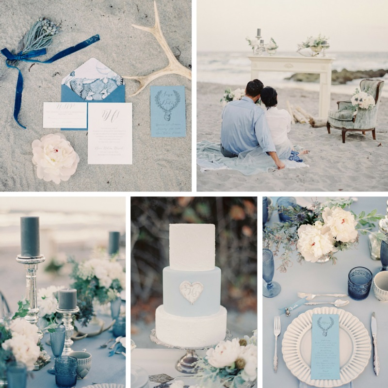 Heavenly Beach Wedding Ideas : Chic
