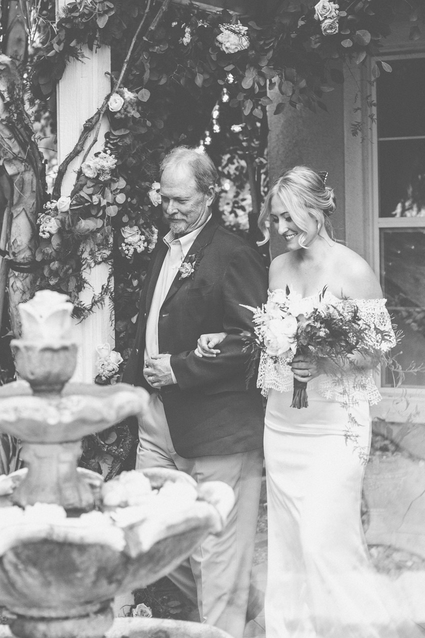 A Boho Backyard Wedding Full of Romance