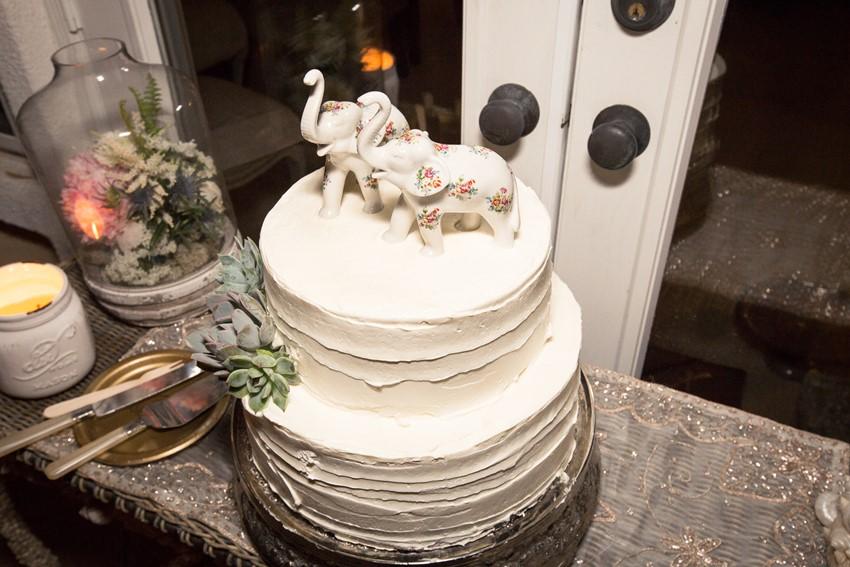 A Boho Backyard Wedding Full of Romance