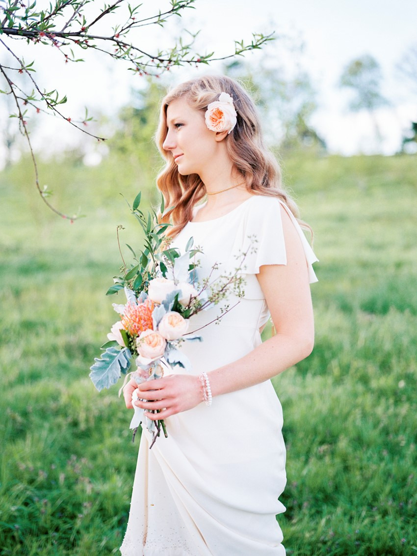 Charming Spring Elopement Inspiration