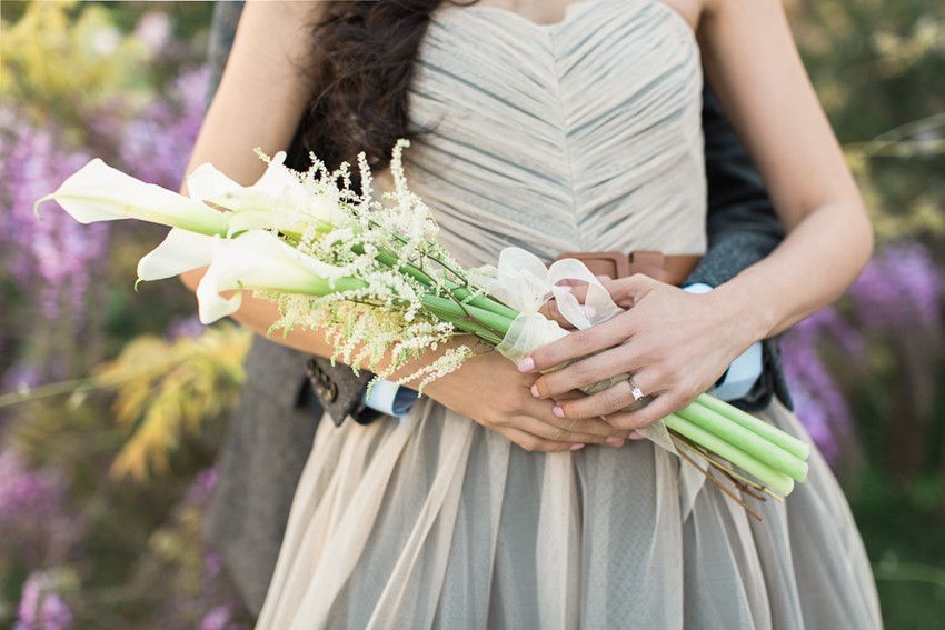 A Romantic Modern Vintage Engagement Session