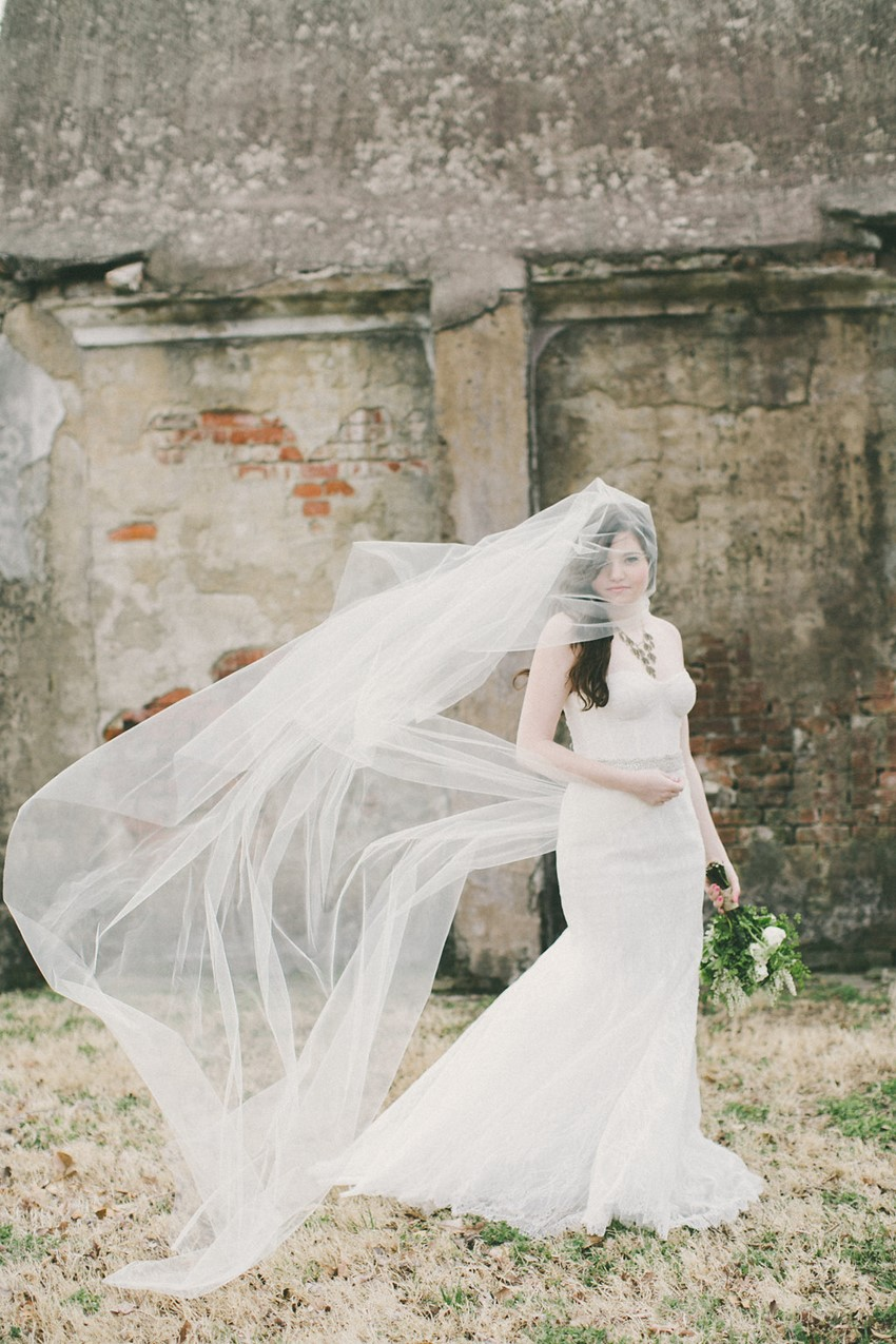 Romantic Modern Vintage Wedding Inspiration