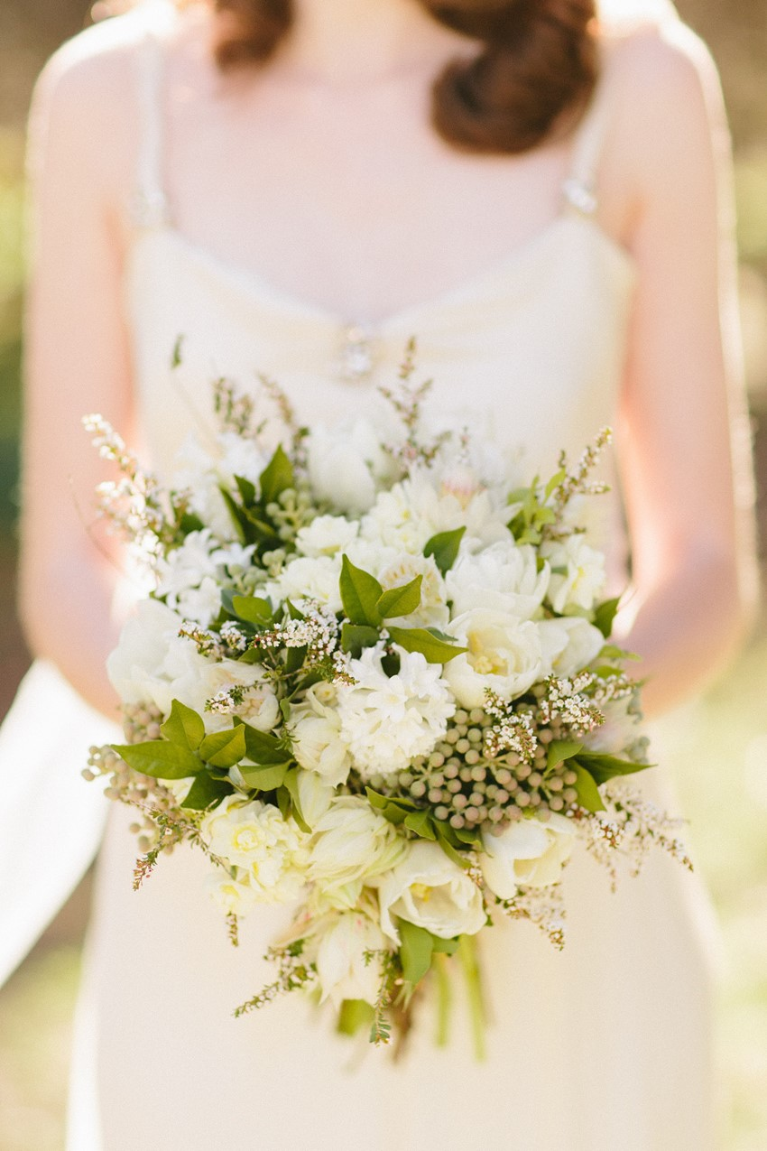 Bridal Bouquet - A Rustic Vintage Wedding Inspiration Shoot at Montrose Berry Farm