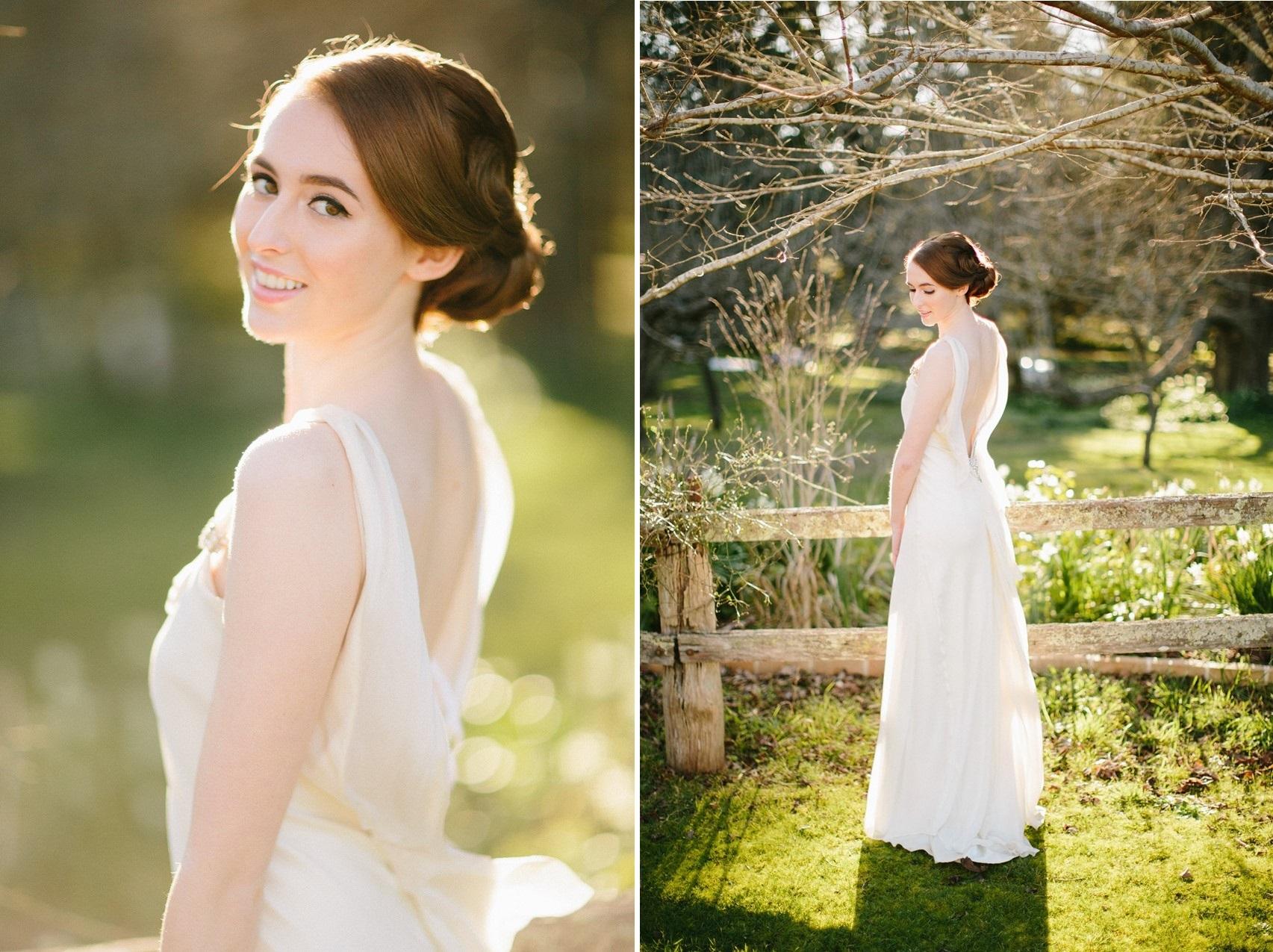 Elegant Vintage Bride - A Rustic Vintage Wedding Inspiration Shoot at Montrose Berry Farm