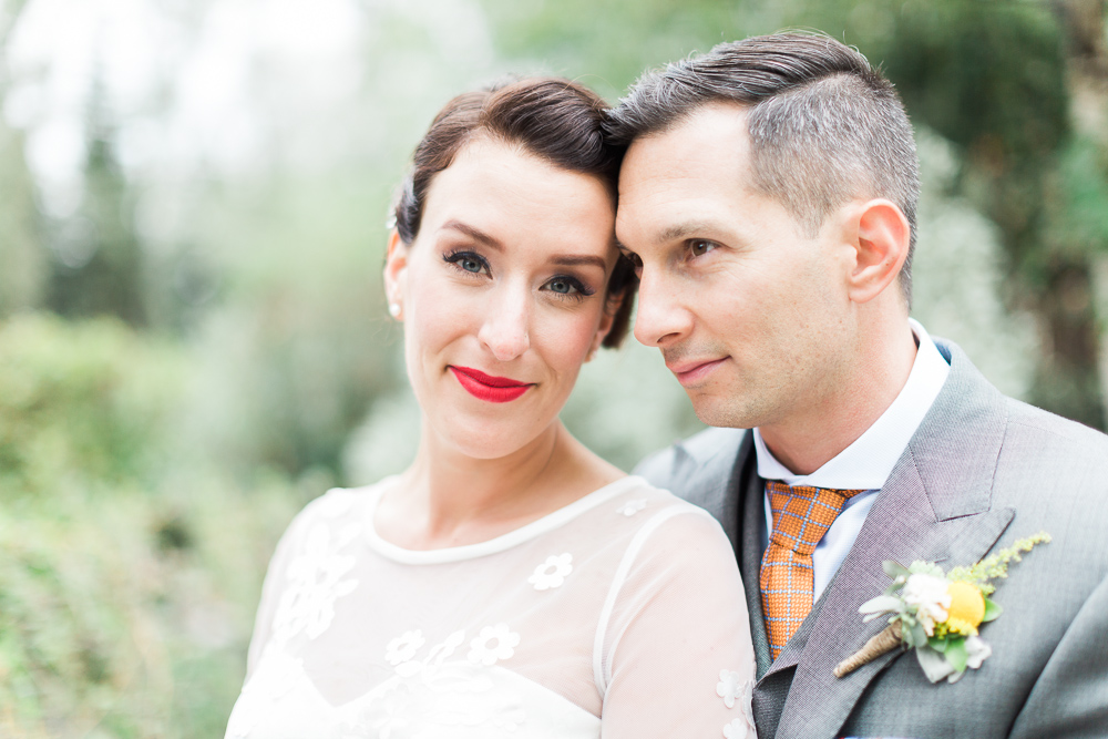 Vintage Bride & Groom - An Intimate Vintage Wedding Full of Romance