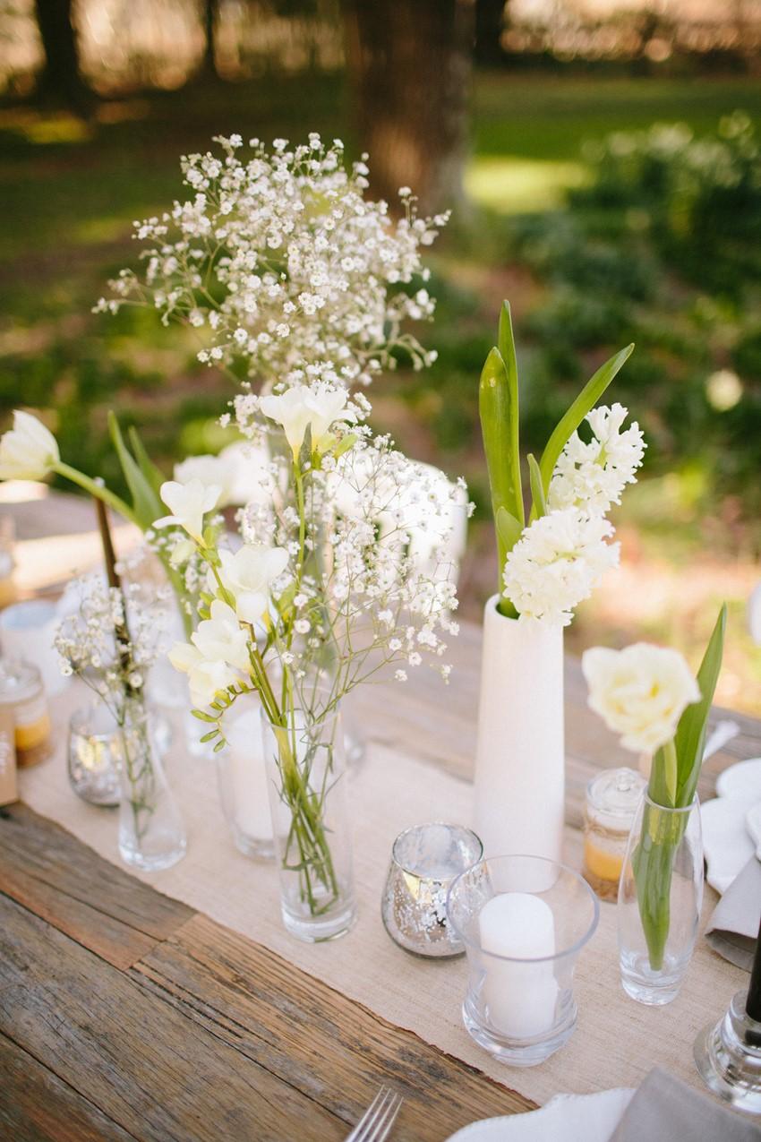 Elegant Rustic Wedding Tablescape - A Rustic Vintage Wedding Inspiration Shoot at Montrose Berry Farm