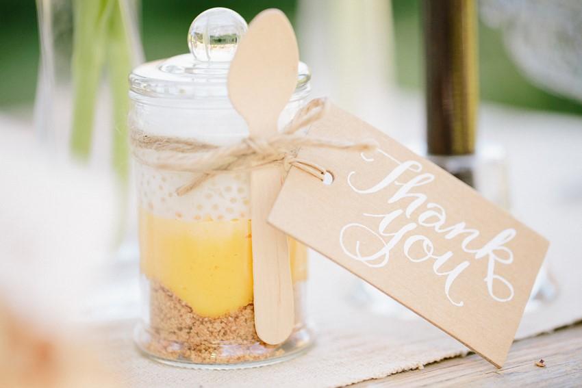 Edible Wedding Favour - A Rustic Vintage Wedding Inspiration Shoot at Montrose Berry Farm