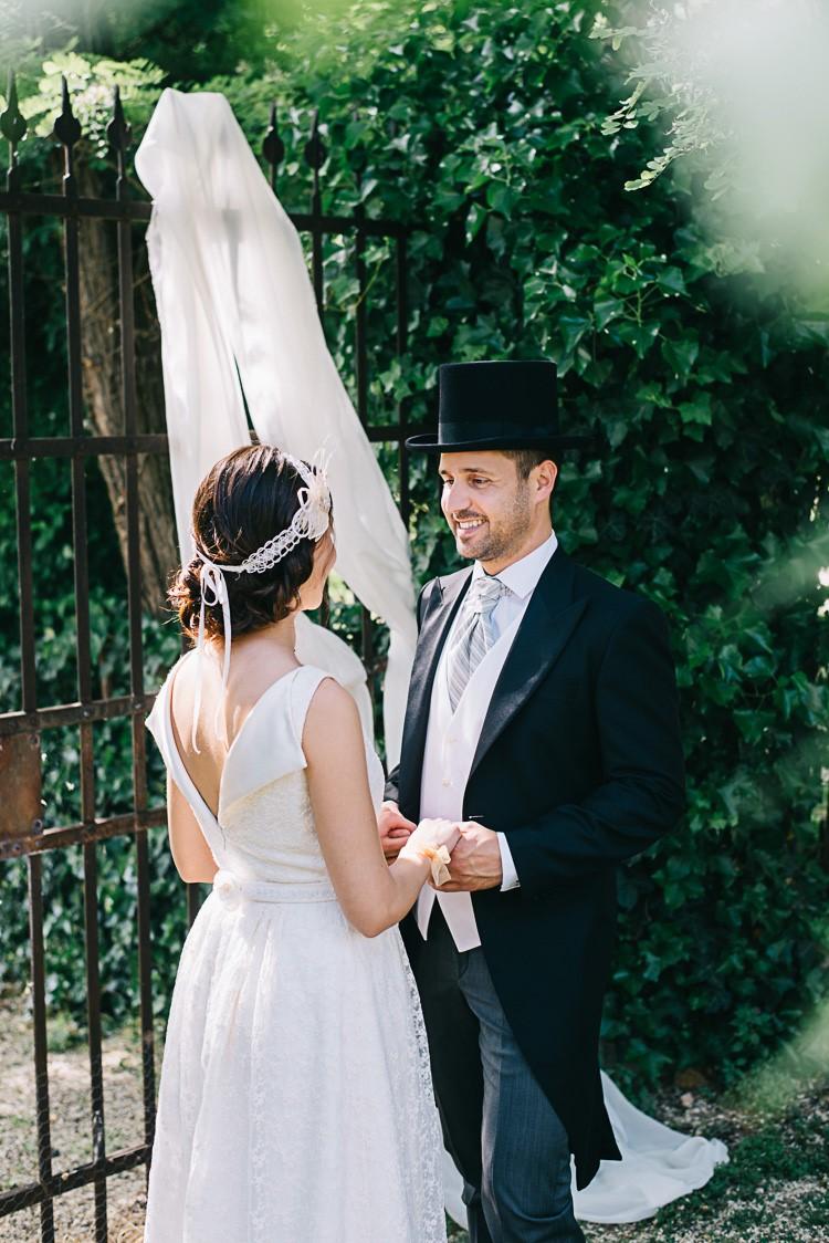 A Romantic Vintage Wedding in Italy
