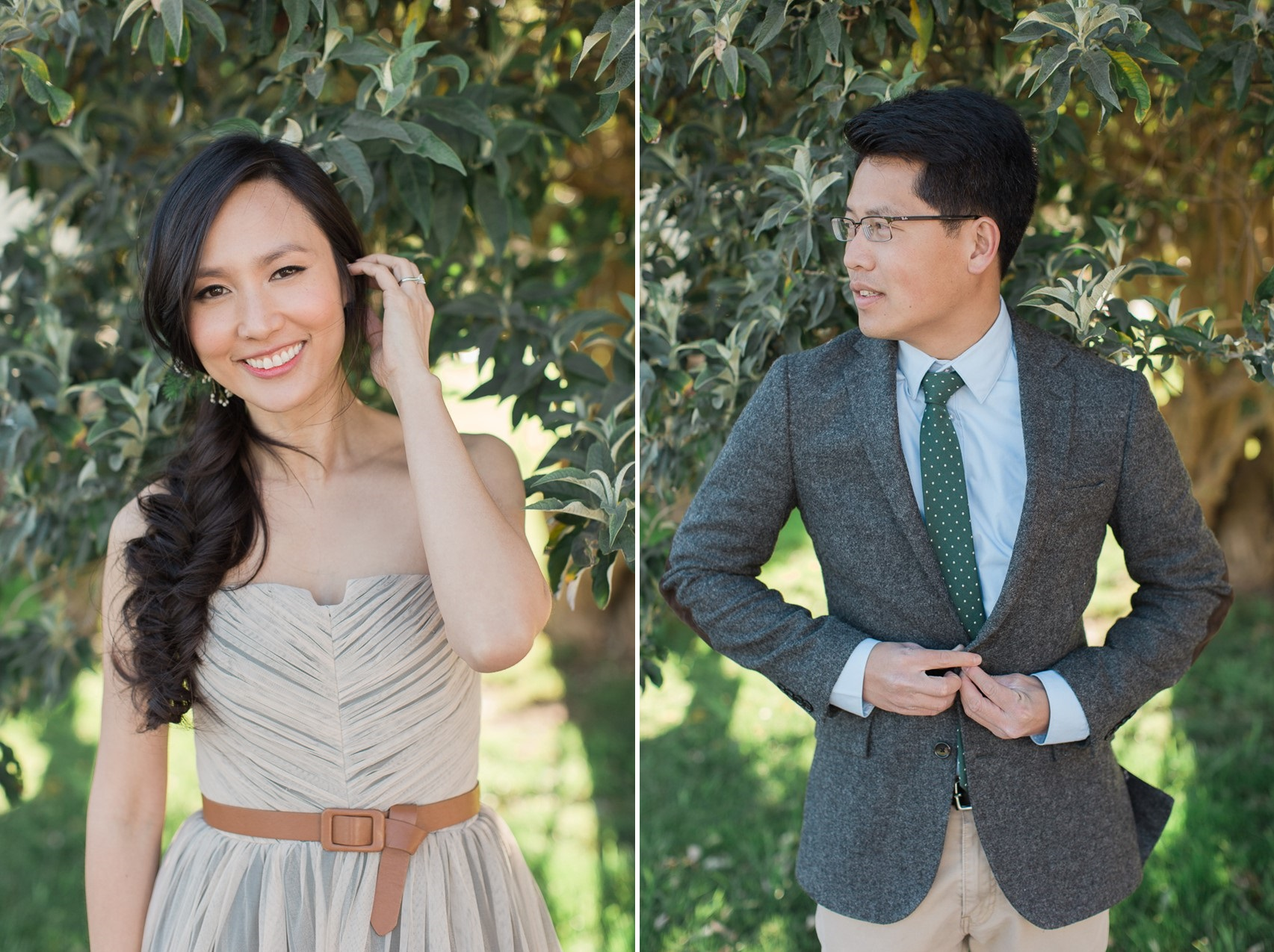 A Romantic Modern Vintage Engagement Session