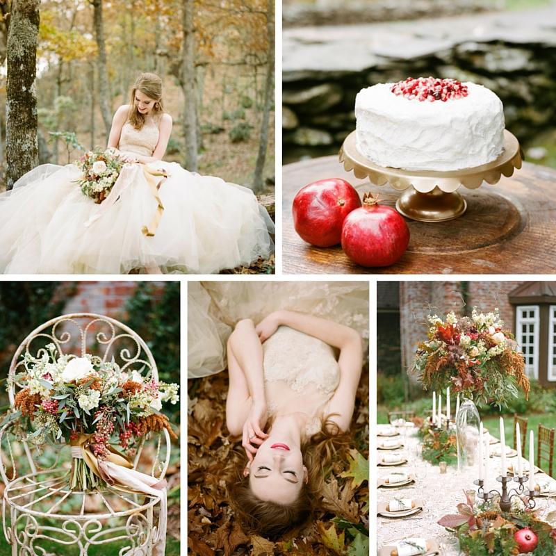 Breathtakingly Romantic Fall Wedding Inspiration Shoot at Twickenham House