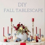 DIY Painted Pumpkins for the perfect Fall Tablescape