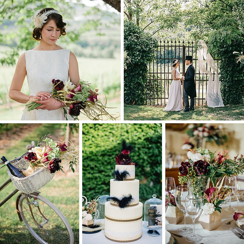 Romantic Vintage Wedding Ideas Inspired By Downton Abbey