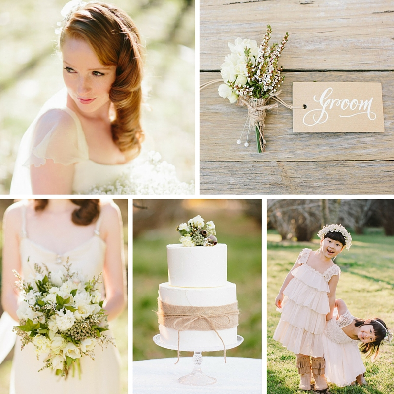 A Rustic Vintage Wedding Inspiration Shoot at Montrose Berry Farm