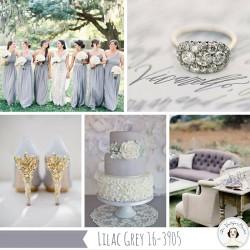 Lilac Gray Wedding Inspiration