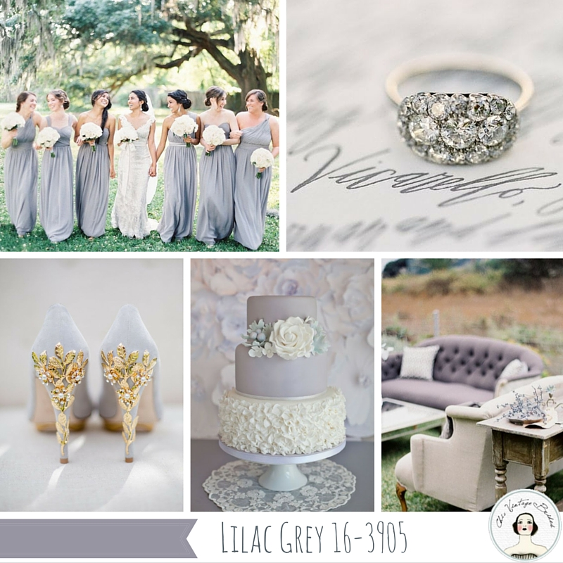 Lilac Gray Wedding Inspiration