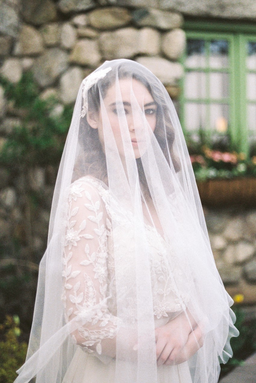 Bridal Veil - Romantic Al Fresco Wedding Ideas Inspired by Tuscany