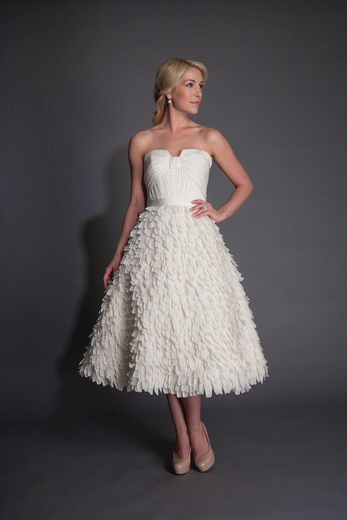 20 Chic 1950s Inspired Wedding Dresses : Chic Vintage Brides