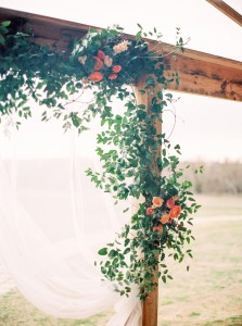 Wedding Ceremony Decor - An Intimate Wedding Full of Rustic Vintage Elegance