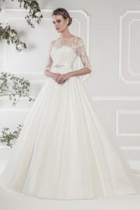 Vintage Wedding Dress - 11424 Ellis Bridals Long Sleeve Wedding Dress