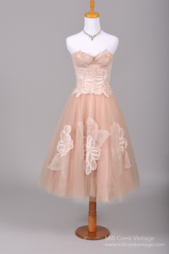 Fabulous Vintage 1950s Bridesmaid Dresses from Mill Crest Vintage