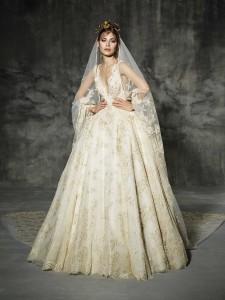 Vintage Wedding Dress - Yolan Cris Llunas Wedding Dress