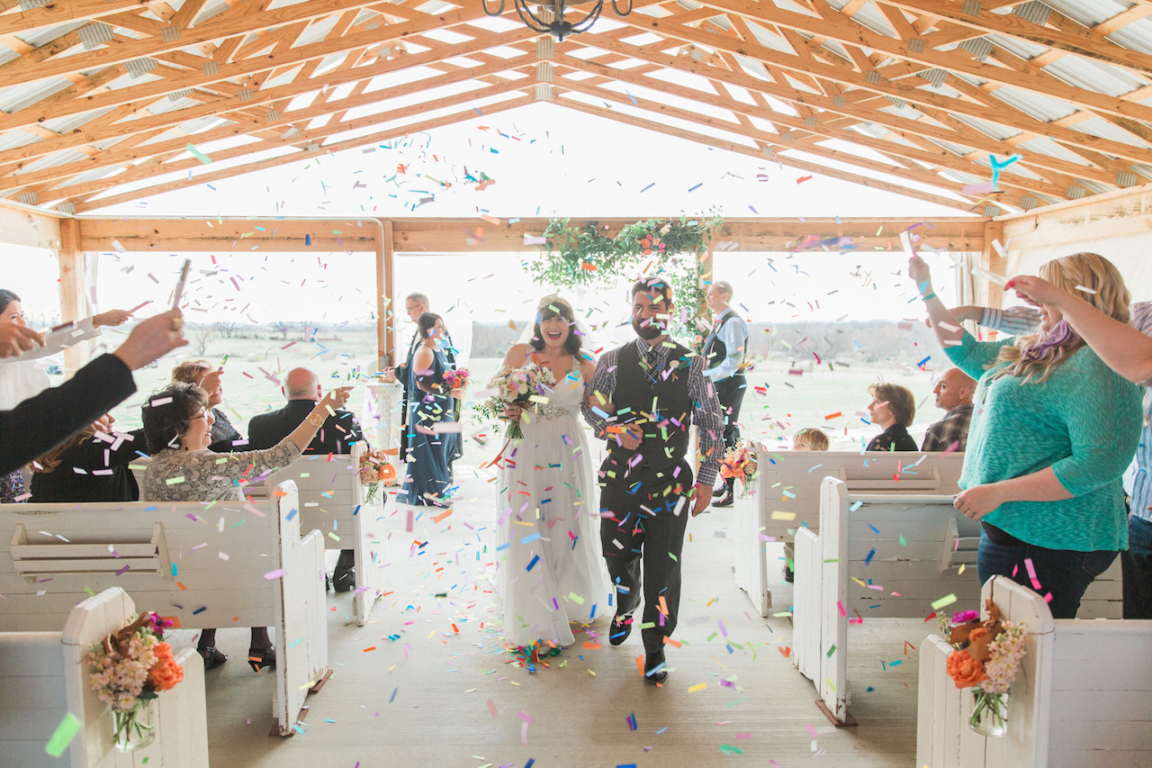 Confetti - An Intimate Wedding Full of Rustic Vintage Elegance