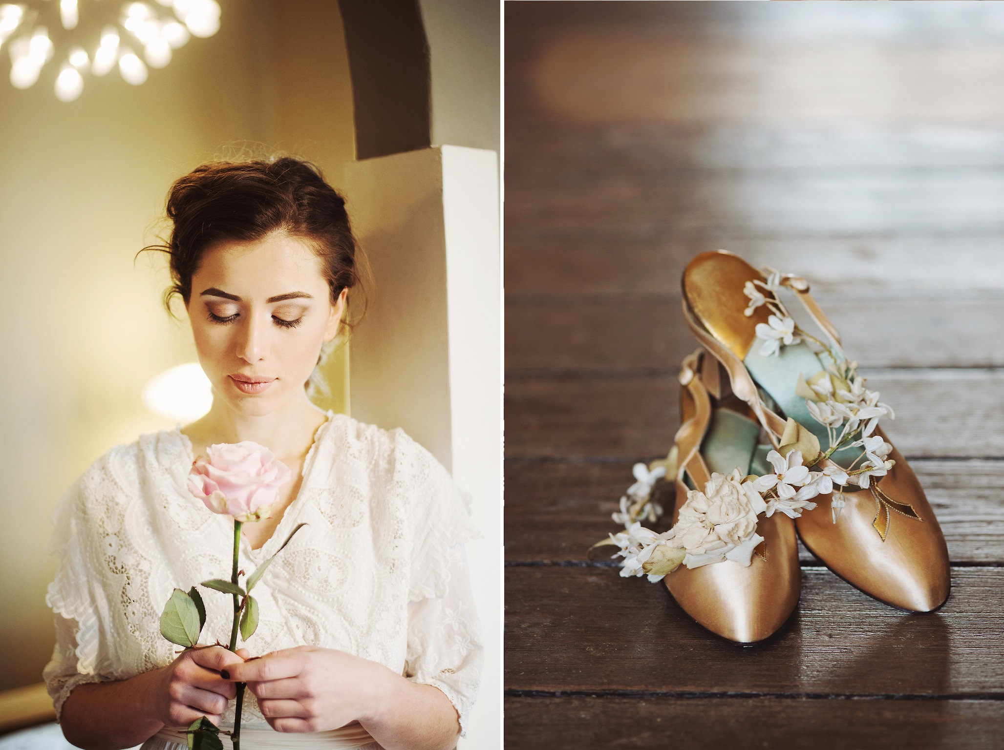 Beautiful Bridal Inspiration with Edwardian Wedding Dresses : Chic ...