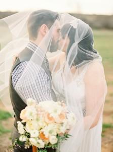 Kiss - An Intimate Wedding Full of Rustic Vintage Elegance