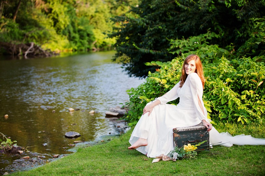 A Dreamy 'A River Runs Through It' Inspired Wedding Shoot