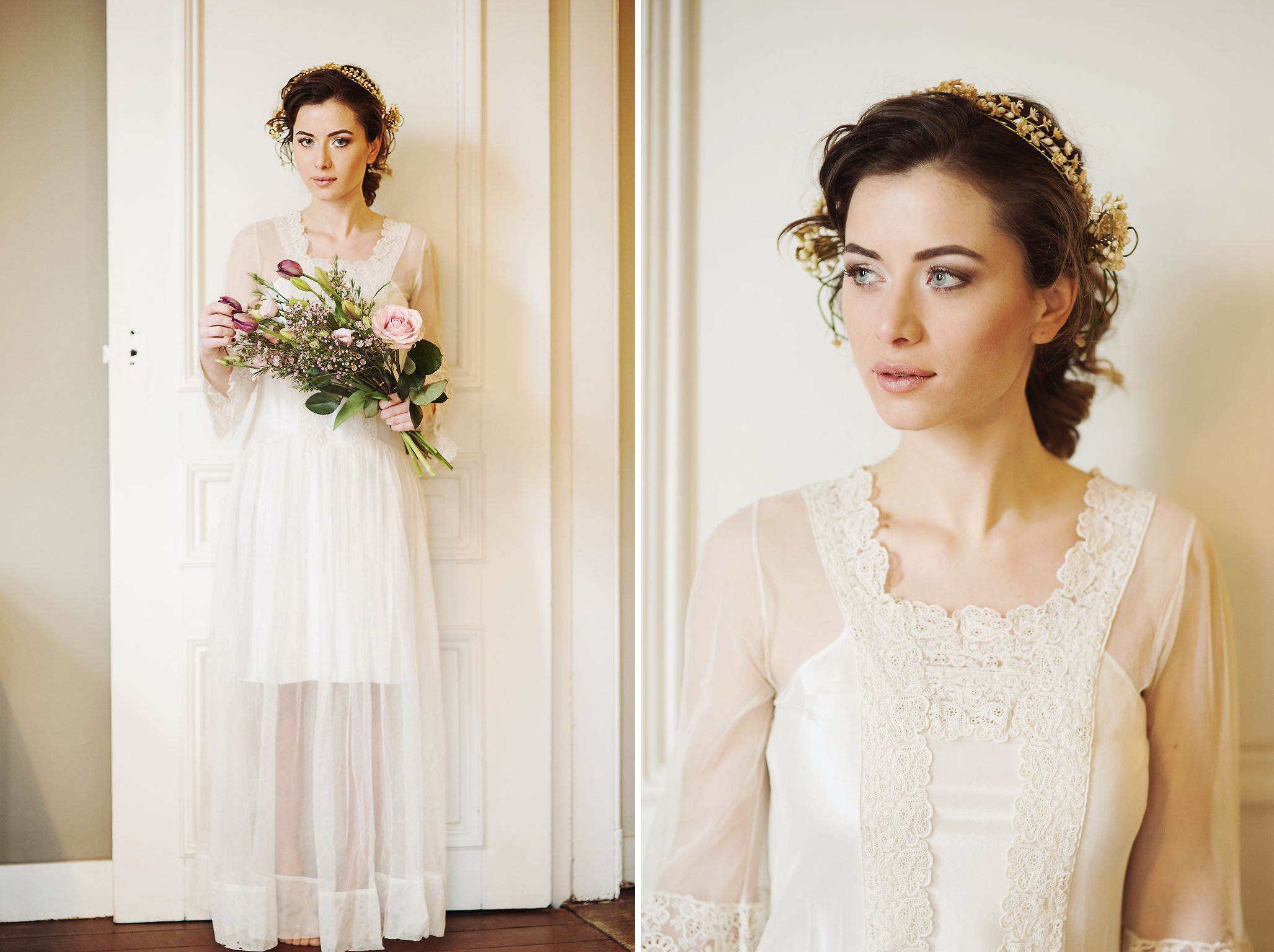 A Joy Forever - Beautiful Bridal Inspiration with Edwardian Era Wedding Dresses