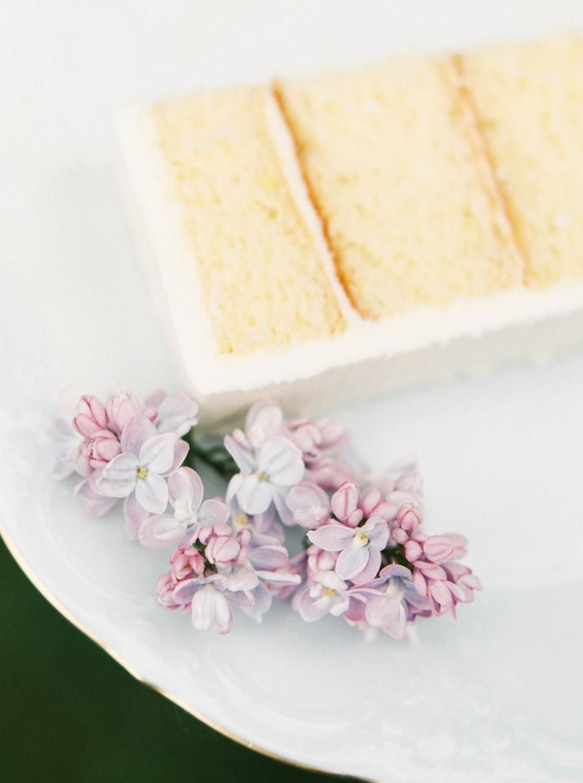 Wedding Cake - Romantic Spring English Garden Wedding Inspiration
