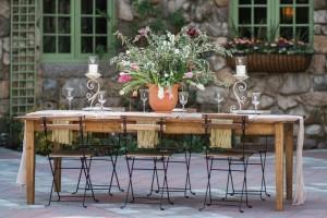 Al Fresco Tablescape - Romantic Al Fresco Wedding Ideas Inspired by Tuscany