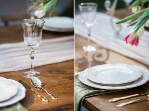 Outdoor Wedding Tablescape - Romantic Al Fresco Wedding Ideas Inspired by Tuscany