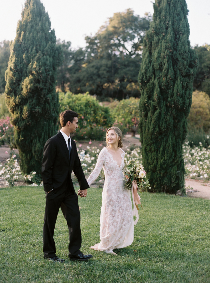 Bride & Groom - Dreamy Garden Wedding Inspiration with a Hint of Provence
