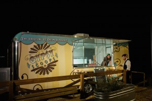 Wedding Ice Cream Truck - An Intimate Wedding Full of Rustic Vintage Elegance