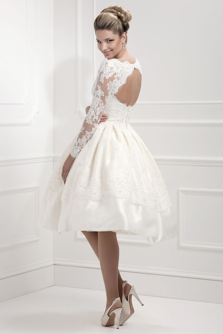 20 chic 1950s inspired wedding dresses chic vintage brides for White dress after wedding