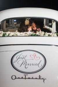 Wedding Vintage Getaway Car - An Intimate Wedding Full of Rustic Vintage Elegance
