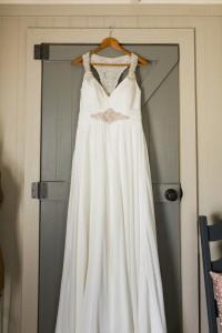 Wedding Dress - An Intimate Wedding Full of Rustic Vintage Elegance