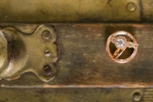 Wedding Rings - An Intimate Wedding Full of Rustic Vintage Elegance