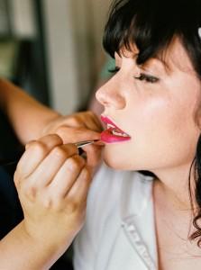 Bridal makeup - An Intimate Wedding Full of Rustic Vintage Elegance