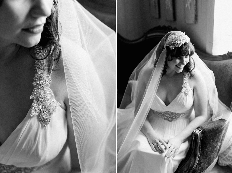 Bride - An Intimate Wedding Full of Rustic Vintage Elegance