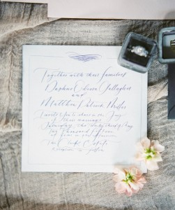 Wedding Invitation - A Romantic Gothic Bridal Inspiration Shoot