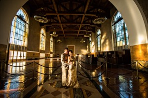 A Glamorous Art Deco Inspired Engagement Shoot
