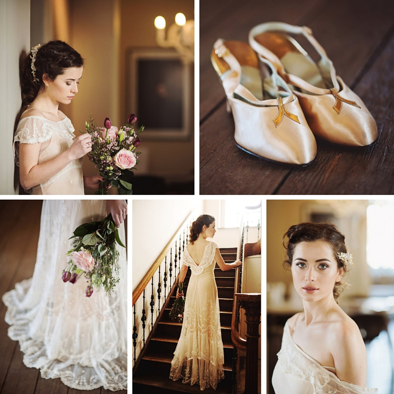 A Joy Forever - Beautiful Bridal Inspiration with Edwardian Wedding Dresses