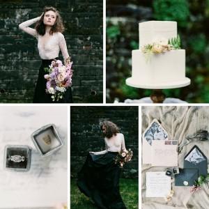 A Romantic Gothic Bridal Inspiration Shoot Photography ~ Maria Lamb