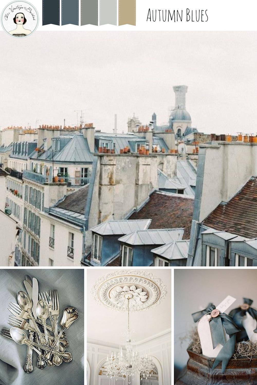 Chic City Wedding Inspiration in Slate & Grey